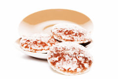 Traditional lebkuchen gingerbread cookies Stock Photos