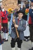 Traditional Lederhosen Costume at the Oktoberest Stock Image
