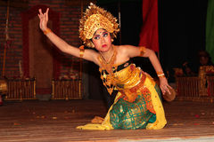 Traditional Legong dance in Bali Stock Photos