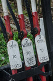 Traditional levers for railway points. Traditional levers for old railway points Royalty Free Stock Image