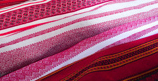 Traditional linen fabric Royalty Free Stock Photography