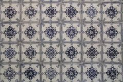 Traditional lisbon tiles background. Or texture stock images