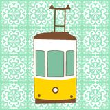Traditional Lisbon tram Stock Images
