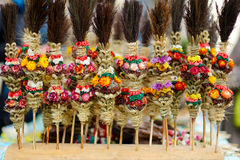 Traditional lithuanian Easter palm bouquets Stock Photography