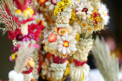 Traditional Lithuanian Easter palm known as verbos Stock Image