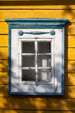 Traditional lithuanian house detail - window Stock Photos