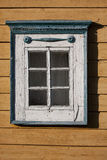 Traditional lithuanian house detail - window Royalty Free Stock Photography