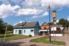 Traditional Lithuanian Houses Royalty Free Stock Photography