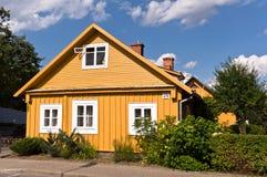 Traditional Lithuanian Houses Stock Image