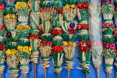 Traditional lithuanian palm bouquets Royalty Free Stock Images