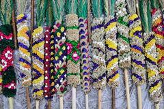 Traditional lithuanian palm bouquets Royalty Free Stock Photography