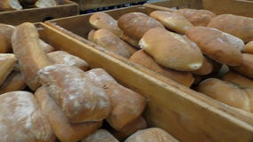 Traditional local bakery products  stock video footage