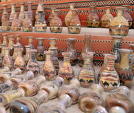 Traditional local souvenirs in Jordan Stock Images