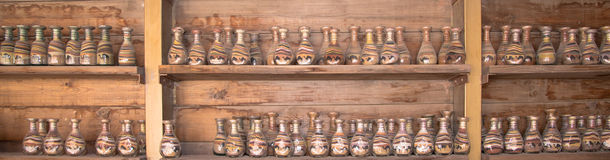 Traditional local souvenirs in Jordan Stock Photography