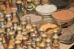Traditional local souvenirs in Jordan Royalty Free Stock Photography