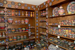 Traditional local souvenirs in Jordan, Middle East Stock Images