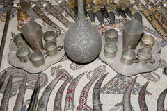 Traditional local souvenirs in Jordan, Middle East Stock Photography