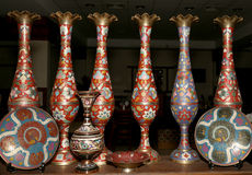 Traditional local souvenirs in Jordan, Middle East Royalty Free Stock Images