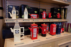 Traditional London souvenirs Stock Image