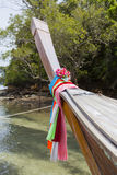 Traditional longtail boat ,Thailand. Royalty Free Stock Photos