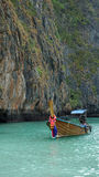 Traditional longtailboat in thailand Stock Photos