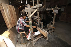 Traditional looms Stock Photos