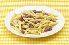 Traditional macaroni Stock Images