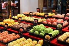 Traditional Macarons Stock Photography