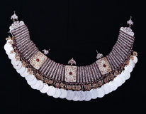 Traditional Macedonian Necklace Stock Photo