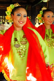 Traditional Malay Dance Stock Image