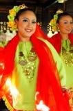 Traditional Malay Dance Stock Image