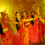 Traditional Malay Dance Royalty Free Stock Photos