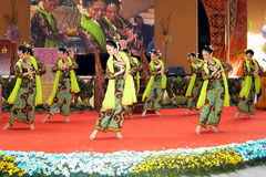 Traditional Malay Dance Royalty Free Stock Photography
