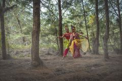 Traditional Malay Dance Stock Photography