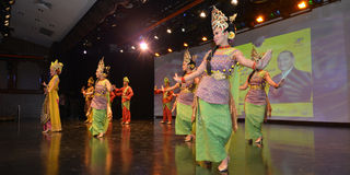 Traditional Malay Dance Royalty Free Stock Images