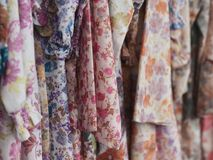 Traditional Malay dresses stock images