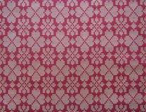 Traditional Malay fabric pattern Stock Photos