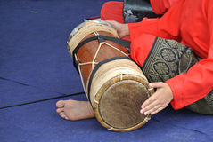 Traditional Malay Gendang or Traditional Malay drum Royalty Free Stock Images