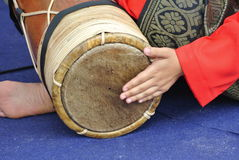 Traditional Malay Gendang or Traditional Malay drum Stock Photography