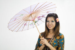 Traditional malay girl Royalty Free Stock Images