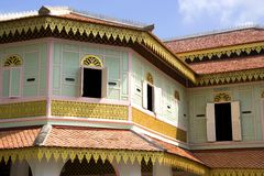 Traditional Malay House Royalty Free Stock Photos