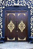 Traditional Malay House Doors Royalty Free Stock Image
