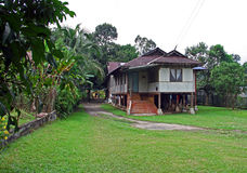 Traditional Malay House Royalty Free Stock Photography