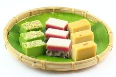 Free Traditional Malay Kuih Talam Layer Cake Royalty Free Stock Image - 70586026