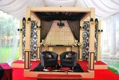 Traditional Malay wedding Stock Photos