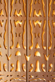 Traditional Malaysia Carved Wooden Detail Stock Photography