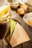 Traditional Malaysian breakfast nasi lemak Stock Images