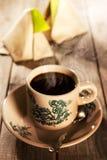 Traditional Malaysian kopitiam breakfast Stock Image