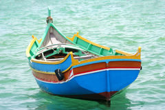 Traditional Malta boat Stock Images