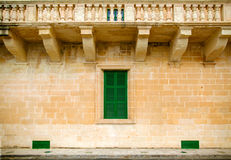 Traditional Maltese architecture Royalty Free Stock Images